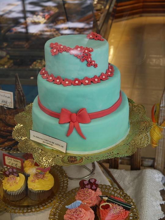 Cake, Celebration, Birthday, Party, Decoration, Wedding