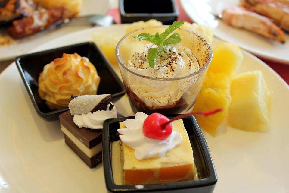 Dessert, Sweet, Yummy, Food, Chocolates, Cakes, Wafer