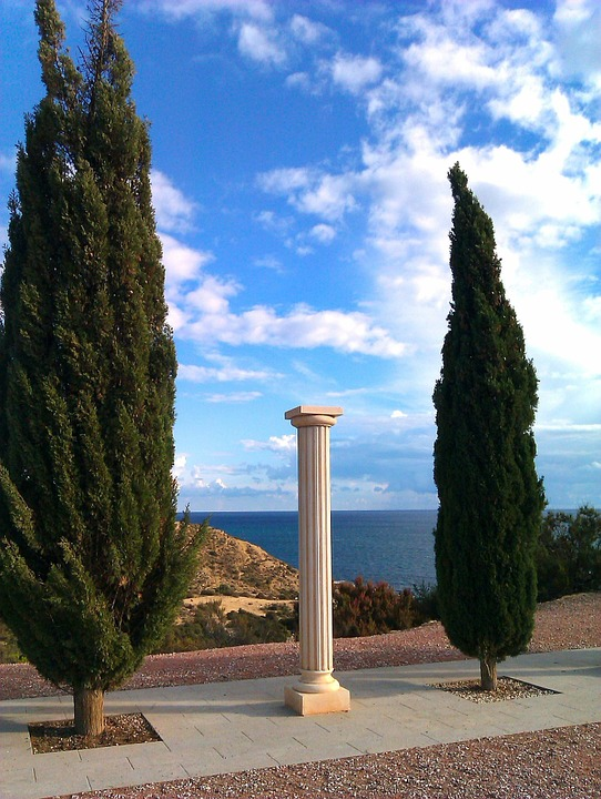 Spain, Alicante, Cala Cantalar, Mediterranean