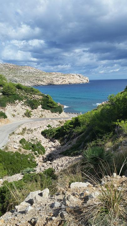 Cala San Vincent, Mallorca, Espana