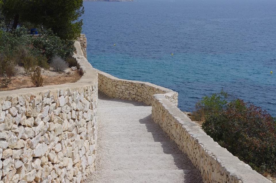 Ladder, Sea, Cala