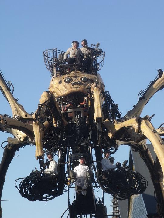 Spider, Mechanics, Robot, Calais Royal Deluxe