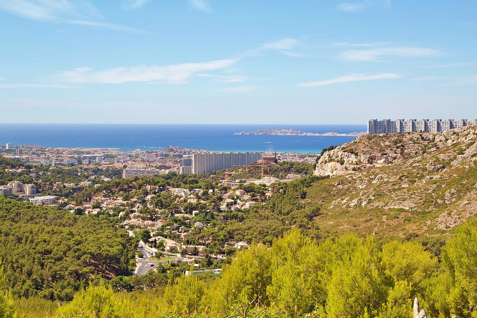 France, Calanques, Mediterranean, Calanque, Landscape