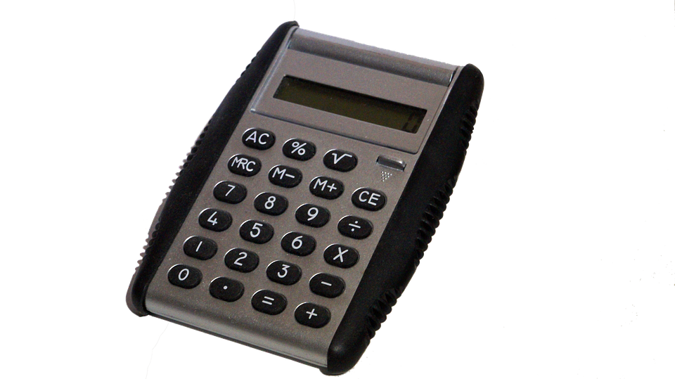 Calculator, Isolated, Office, Technology