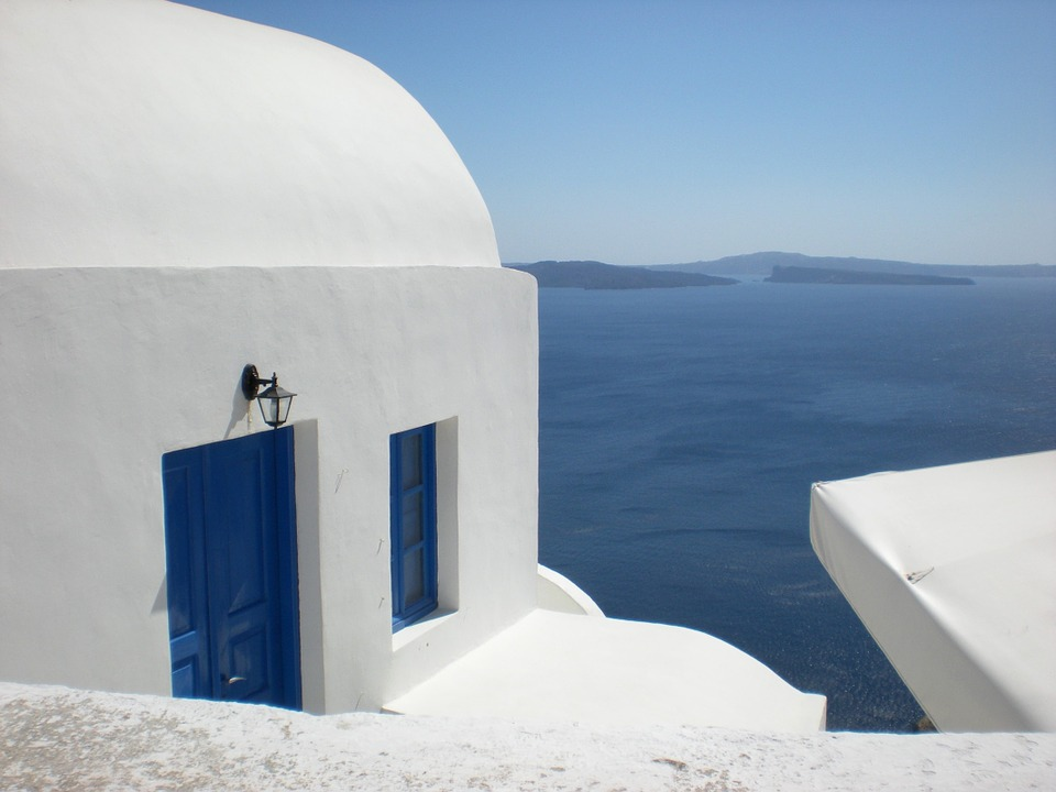 Santorini, Greek Island, Greece, Marine, Caldera, Oia