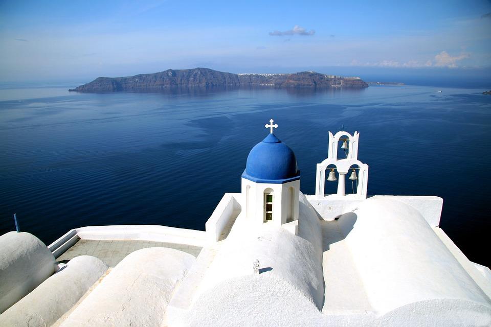 Santorini, Greek Island, Caldera