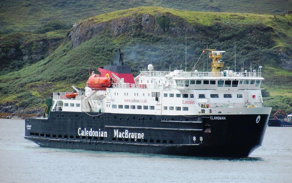 Scotland, Oban, Ferry, Calmac, Caledonian Macbrayne