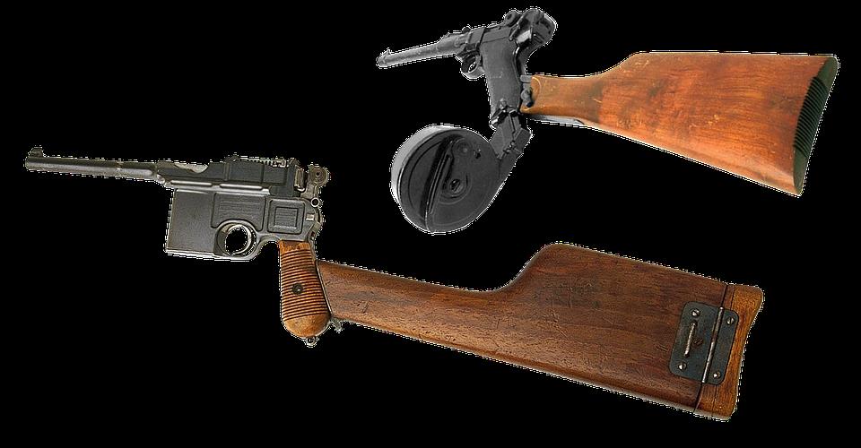 Gun, Mauser, Luger, Parabellum, Caliber, Firearms, Butt