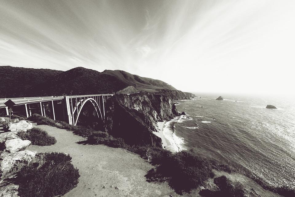 California, Bixby Bridge, Pacific Coast Highway