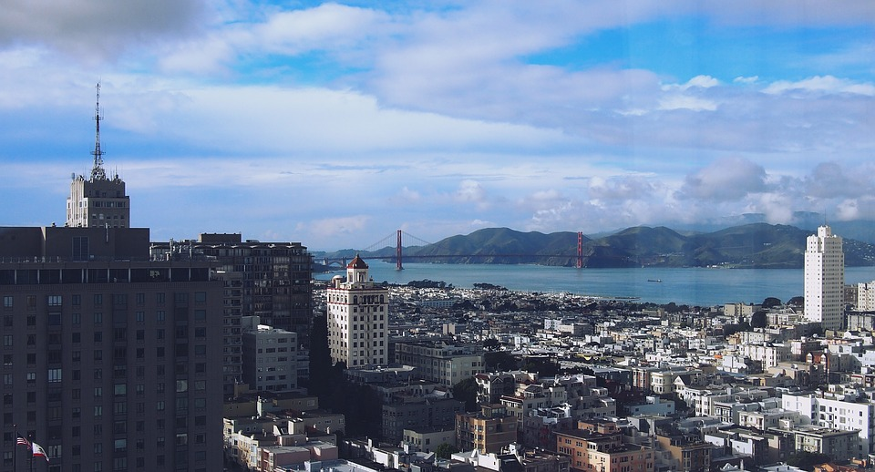 San Francisco, City, Cityscape, City View, California