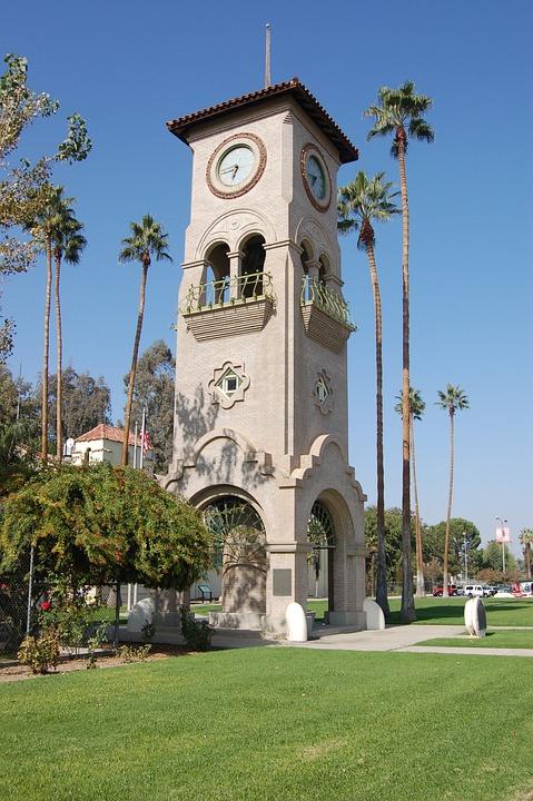 Bakersfield, California, Clock Tower, Architecture