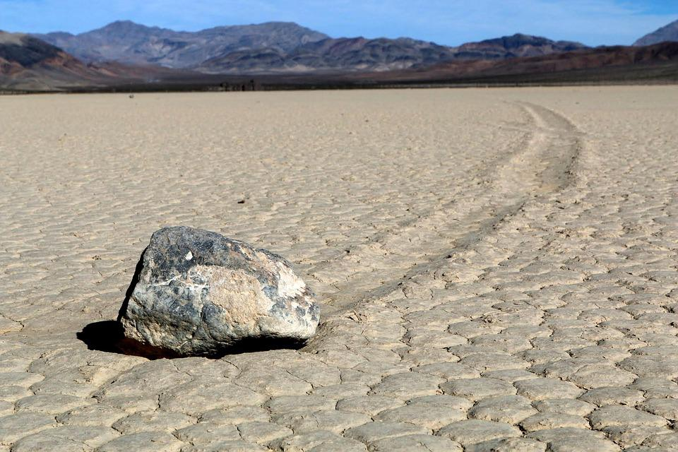 Death Valley, Sliding Rock, California