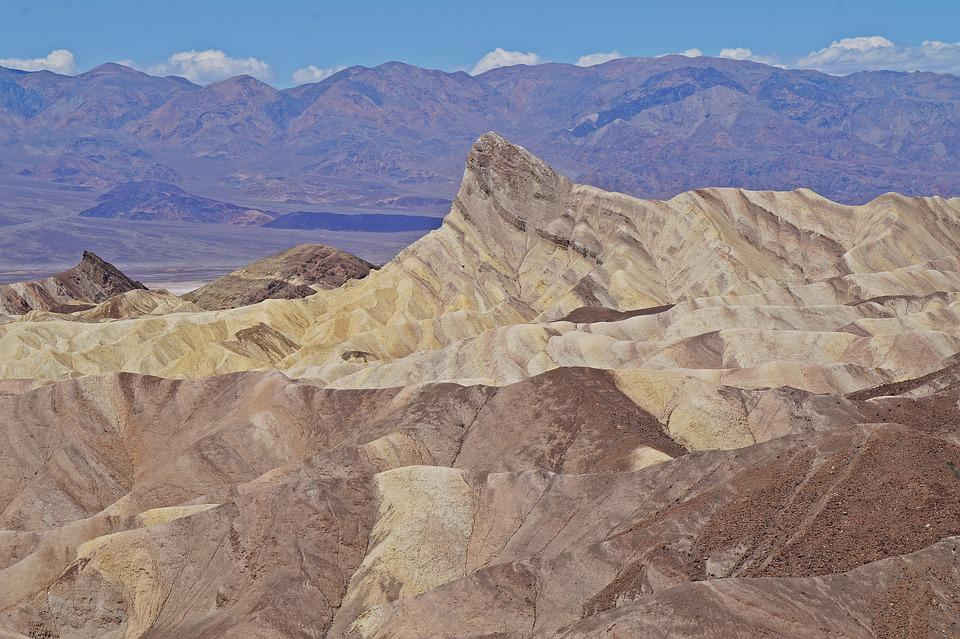 Zabriskie Point, Death Valley, California, The West