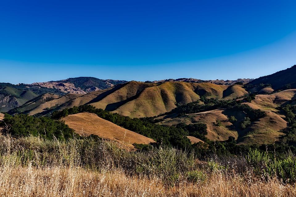 California, Mountains, Landscape, Scenic, Field, Meadow
