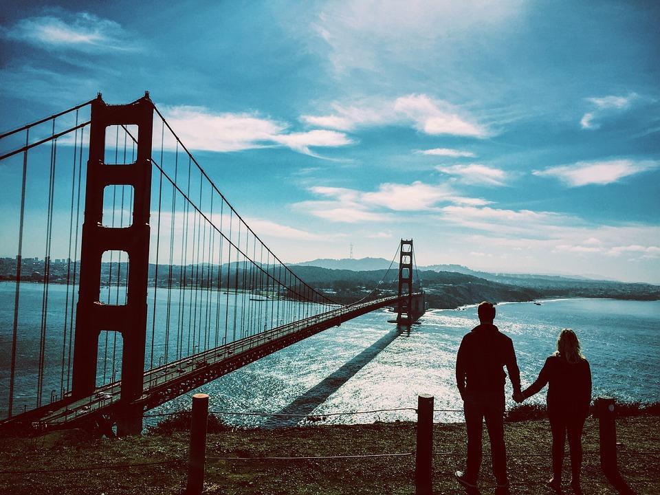 Golden Gate Bridge, San Francisco, California, Bridge