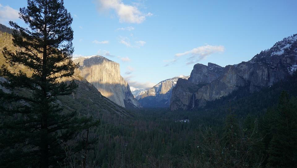 California, Beautiful Scenery, Peaceful, Mountain