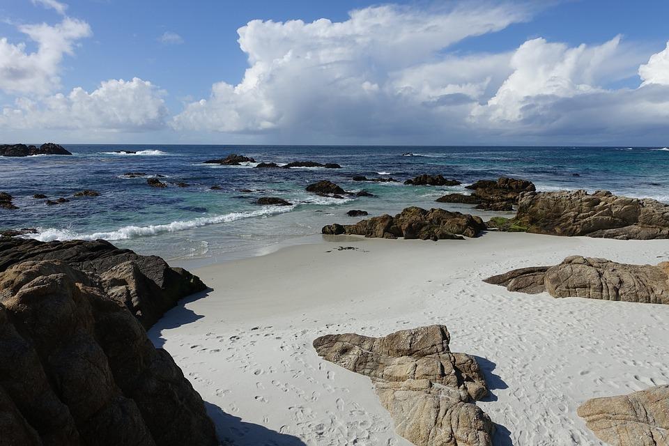 Pebble Beach West Coast California Usa