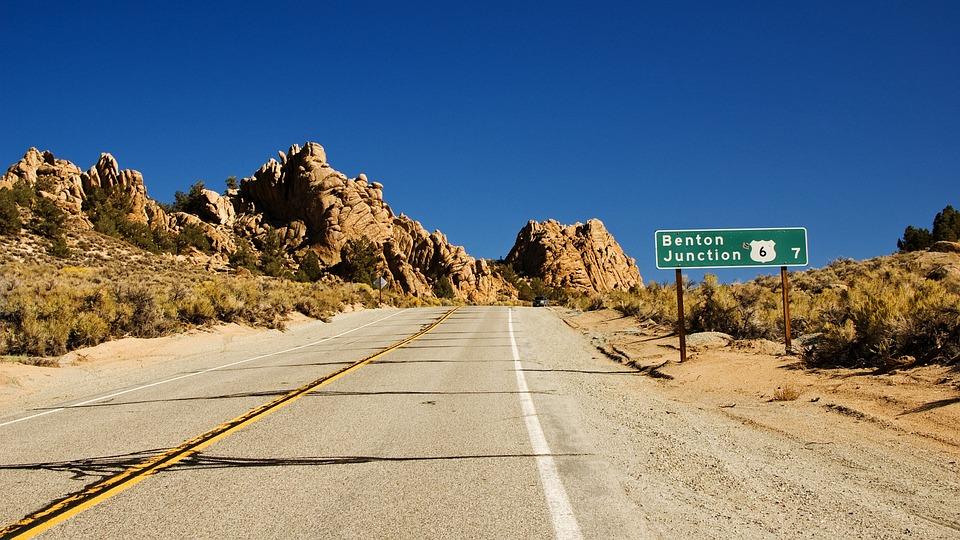 Road, California, Usa, Highway, America, Route, Asphalt