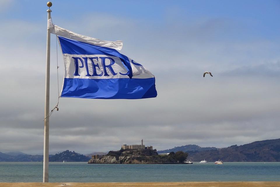 Usa, America, San Francisco, California, Pier 39