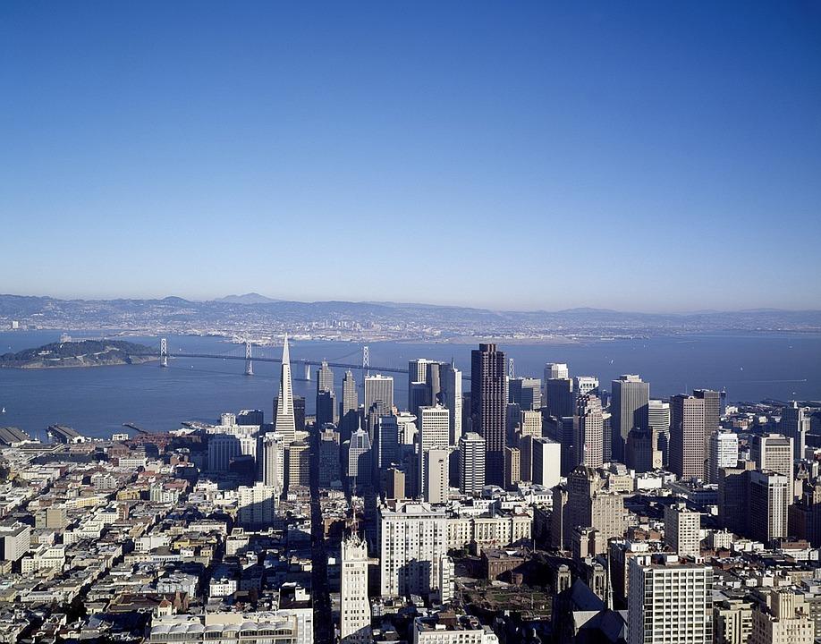 San Francisco, California, City, Cities, Urban, Skyline