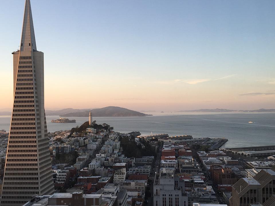 San Fransisco, Tall, California, Building, Skyscraper