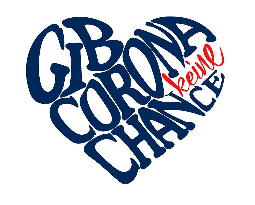 Give Corona No Chance, Button, Heart, Call
