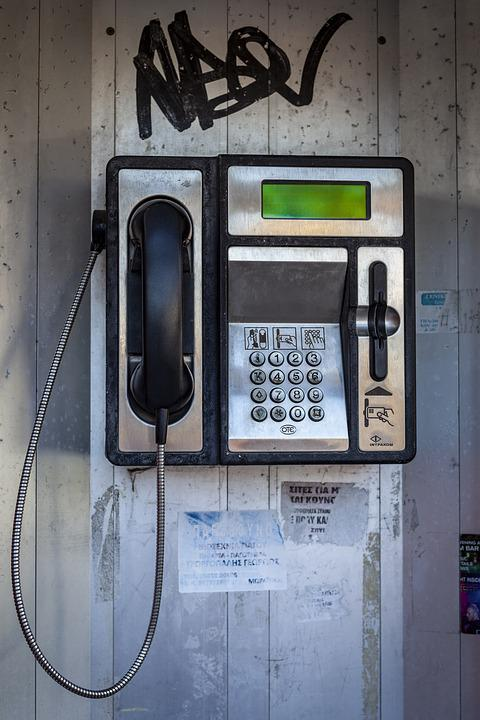 Phone, Phone Booth, Retro, Communication, Call