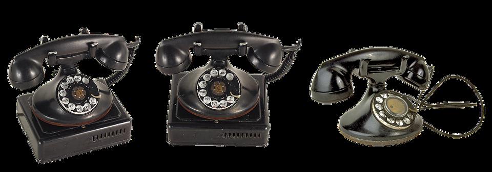 Old Phone, Phone, Link, Call, Vintage Telephone, Tube