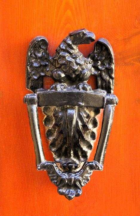 Doorknocker, Malta, Door, Call Waiting, Adler