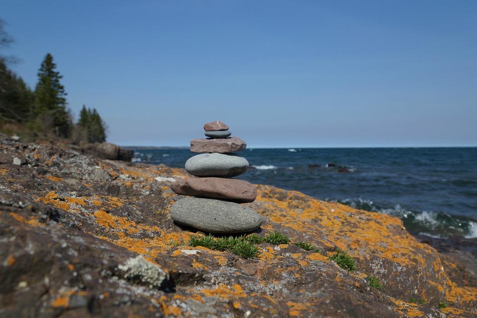 Zen, Rocks, Landscape, Nature, Balance, Stone, Calm