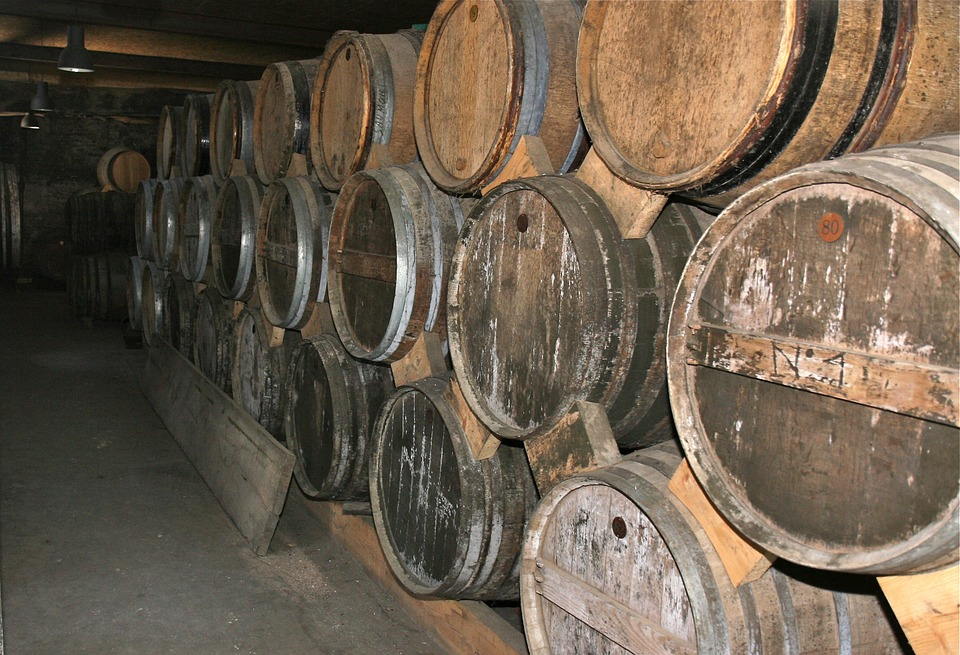 Barrel, Old, Spirit, Calvados, Cellar, Oak