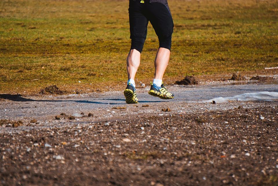 Jog, Run, Sport, Endurance, Calves, Tight, Trained