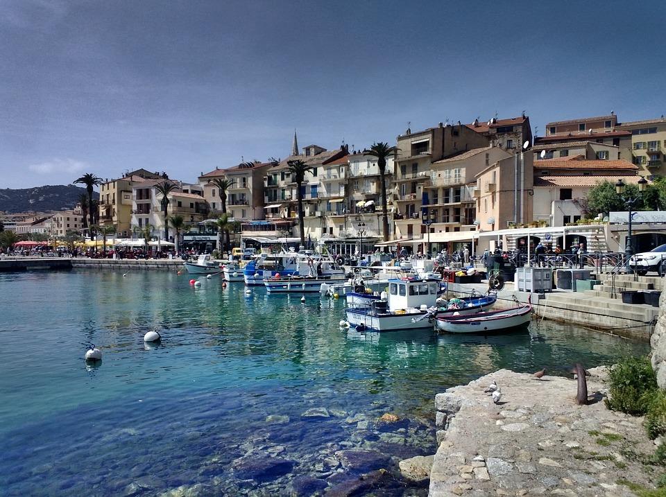 Calvi, Corsica, Europe, Beach, Sea, Blue, Mediterranean