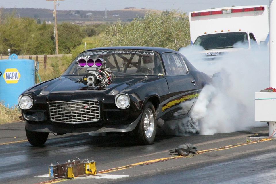 Racecar, Drag Racing, Camaro, Hotrod, Classic