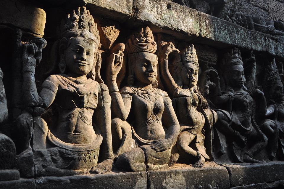 Cambodia, Hindhuismus, Angkor, Temple, Historically