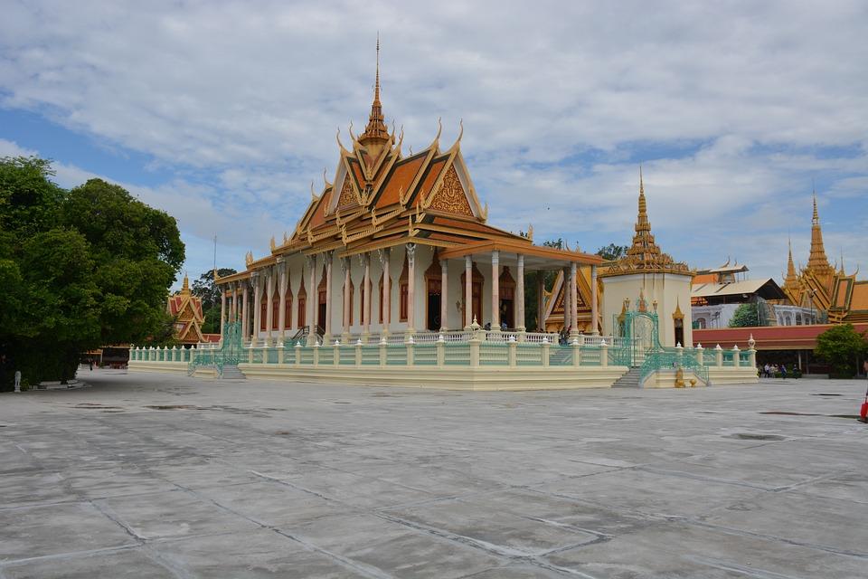 Cambodia, Pnom Penh, Palace, King