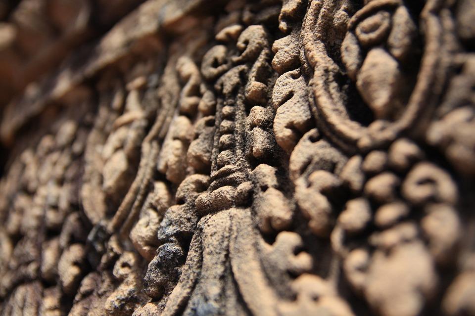 Cambodia, Angkor Wat, Mural, Festival, Ruins, Temple