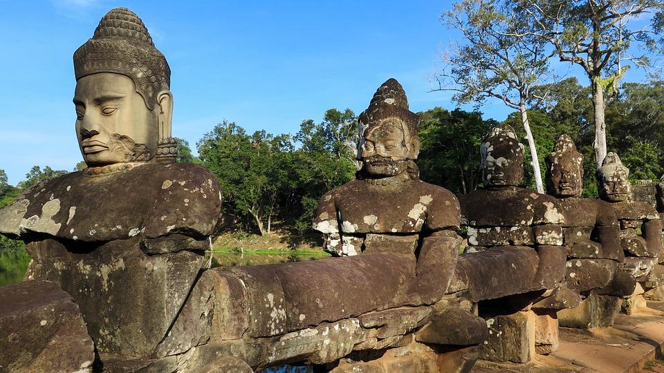 Cambodia, Angkor, Temple, History, Asia, Temple Complex