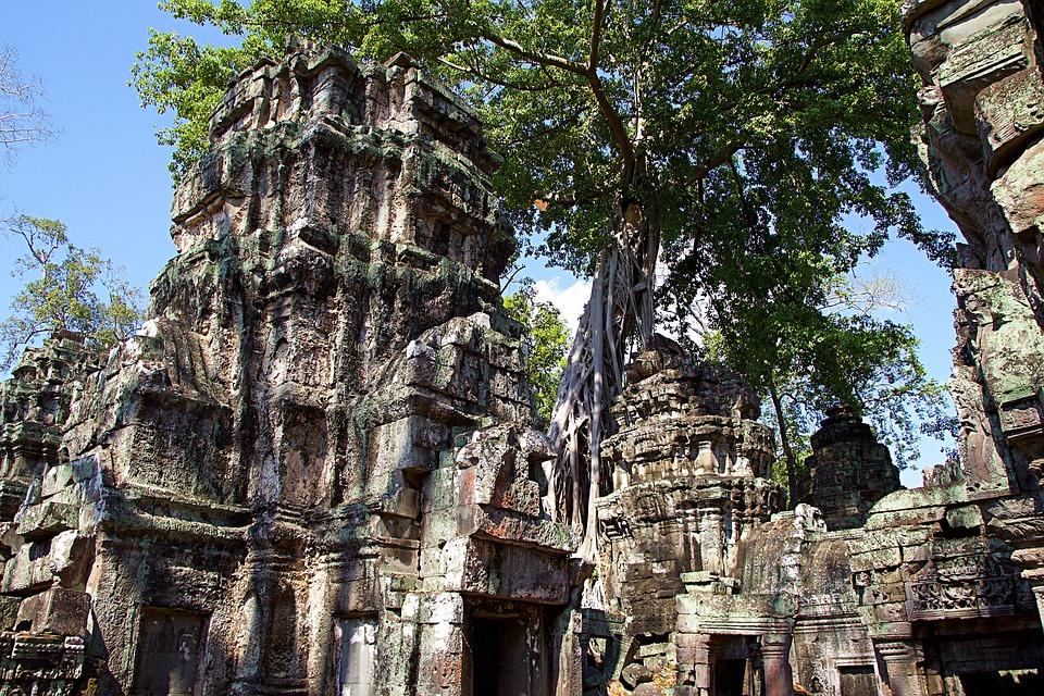 Cambodia, Siem Reap, Angkor Wat, Temple, Asia, Unesco