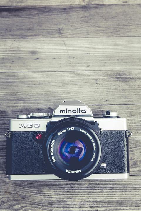 Analog, Antique, Aperture, Body, Camera, Chrome