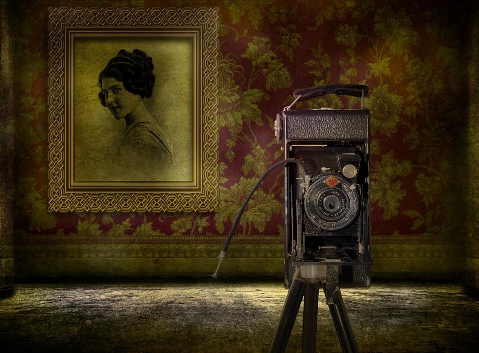 Camera, Photo, Old, Retro, Antique, Art