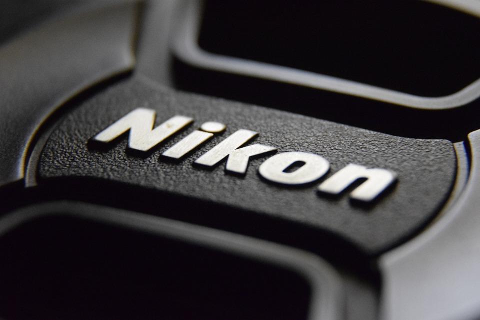 Nikon, Camera, Black, White, Black And White