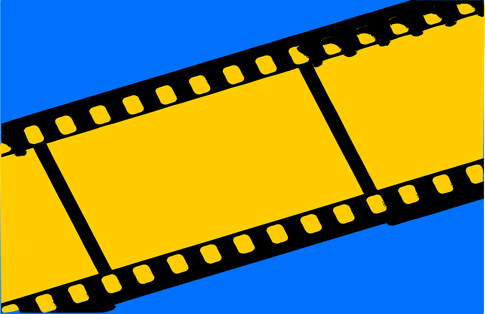 Movie, Cinema, Negative, Black, Frame, Camera, Border