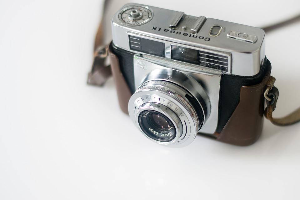 Camera, Analog, Retro, Old, Analog Camera, Lens
