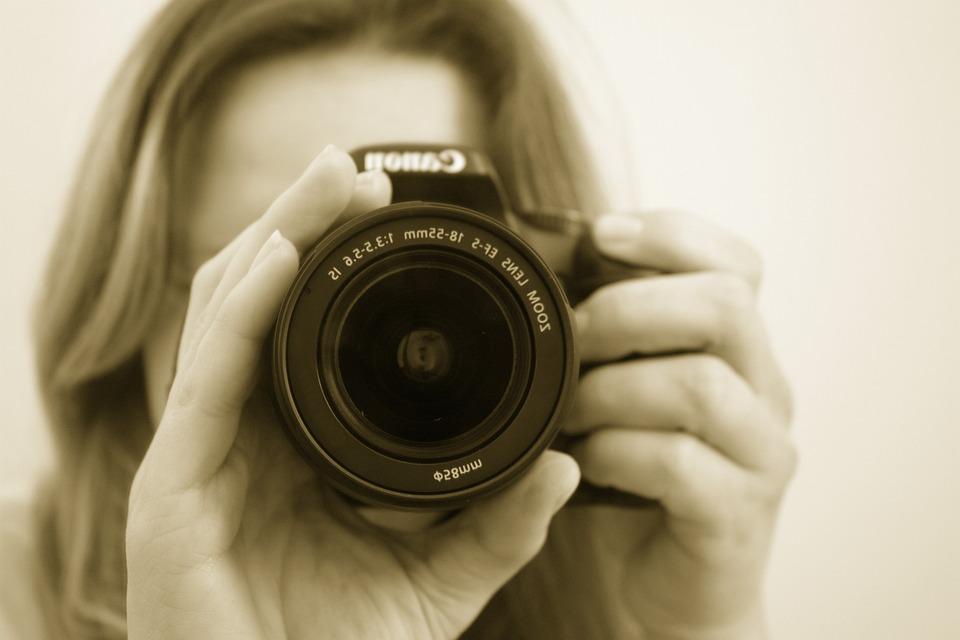 Photographer, Camera, Lens, Slr, Shoots, Picture