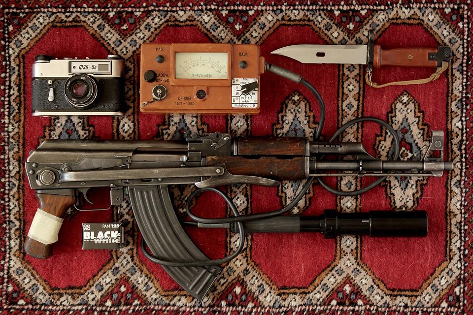 Camera, Ak47, Rifle, Assault Rifle, Weapon, Hand Gun