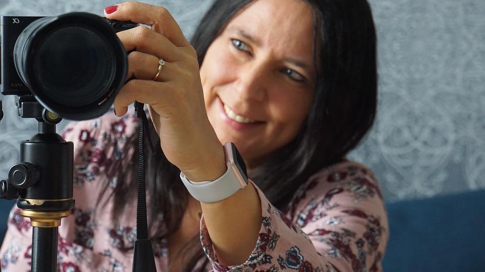 Woman, Photograph, Camera, Photographer