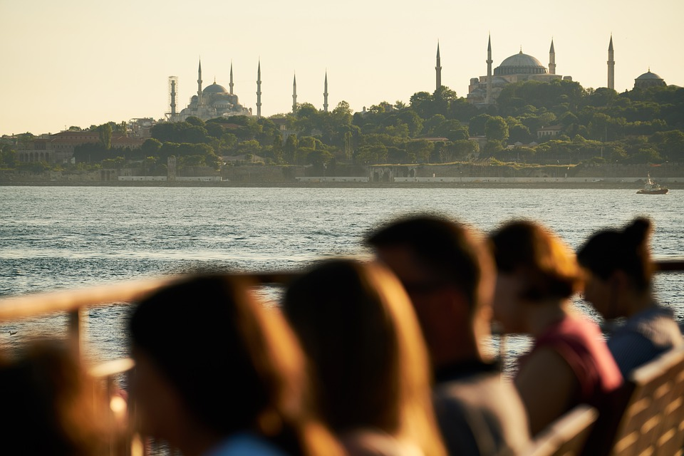 People, Landscape, Mosques, Cami, Turkey, Istanbul