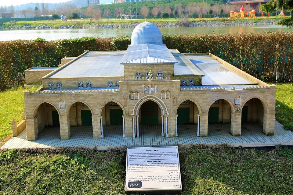 Miniature, Parts, Jerusalem, Cami, City, Architecture