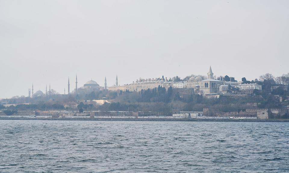 Istanbul, Turkey, Throat, Marmara, On, Cami, Islam
